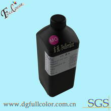 Free shipping LED UV ink UV curable ink for epson 9800 flatbed printer 9color/set
