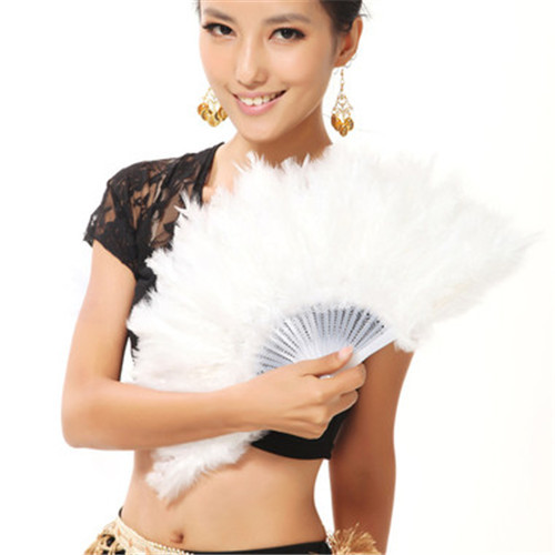 Здесь можно купить  [I AM YOUR FANS] 1pc good quality 28pcs feather fan for belly dancing   Дом и Сад