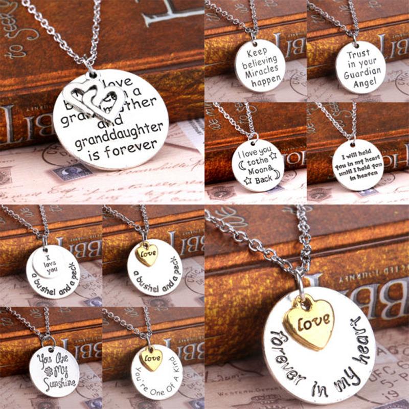 В форме сердца любви серебряный позолоченный ожерелье женщины мужчины ювелирных цепи ожерелье   пары лучший друг шарма ювелирных изделий