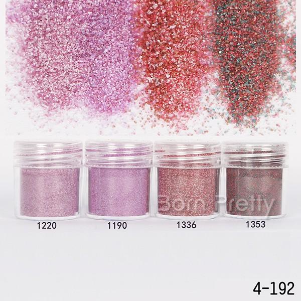 1Box 10ml Dark Red Mixed Nail Glitter Powder Super Matte Powder Nail Art Set Tools(China (Mainland))