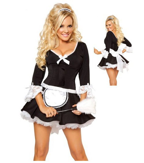 Waitress Halloween Costume 2016 new axis powers hetalia white russia cosplay costume waitress uniform halloween costume for women Aliexpresscom Buy 2015 Sexy French Maid Uniform Wench Waitress Halloween Fancy Dress Costume Outfit From Reliable Costume Western Suppliers On Beliebt