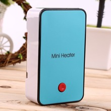 Hot Handheld Mini Heater Desktop USB Heater Electric Heater Portable Office-blue Durable(China (Mainland))