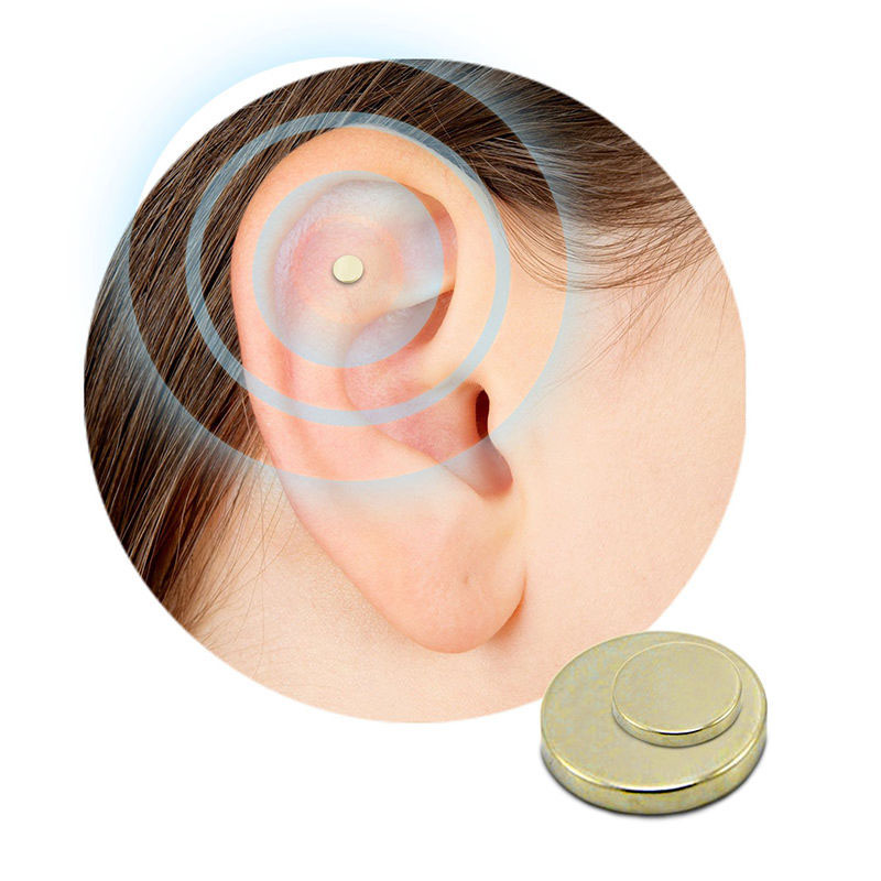 2PCS Magnet Auricular Quit Smoking Zerosmoke ACUPRESSURE Patch Not Cigarettes Health Therapy(China (Mainland))