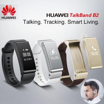 Huawei Talkband в2 оригинальный умный браслет Bluetooth Smartband переносной спорт браслет гарнитура здоровье фитнес деятельность трекер