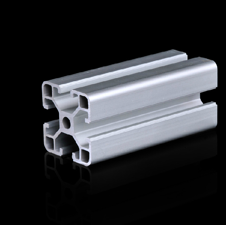 3D Printer frame Aluminum Profiles 4040 extrusions T-slot Aluminum Pipe Grade 6063 500mm Long All Length in Stock(China (Mainland))
