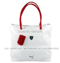 2014 New 3 colors Women Bags PU Free Shipping Fashion Brand Sport Bag Shoulder Messenger Bag Cylinder Gym Totes(China (Mainland))
