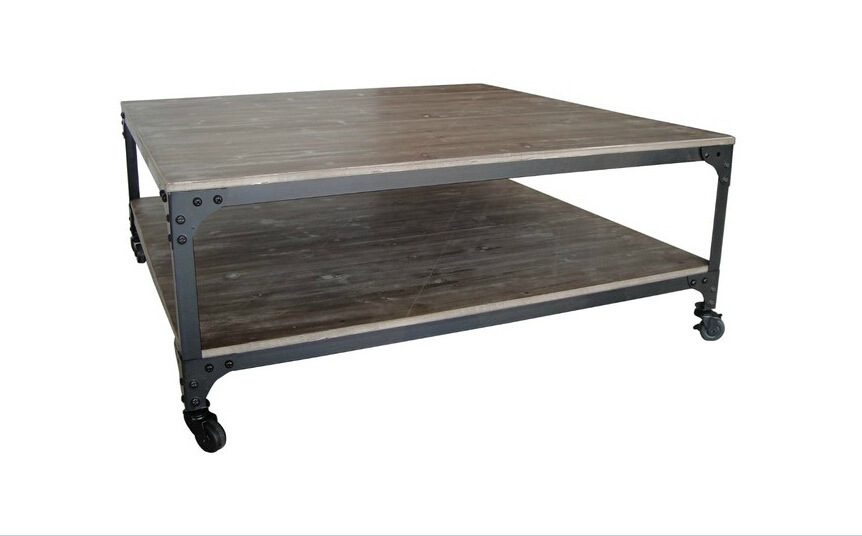 American Country Style Pine Coffee Table Tea Table Coffee Table
