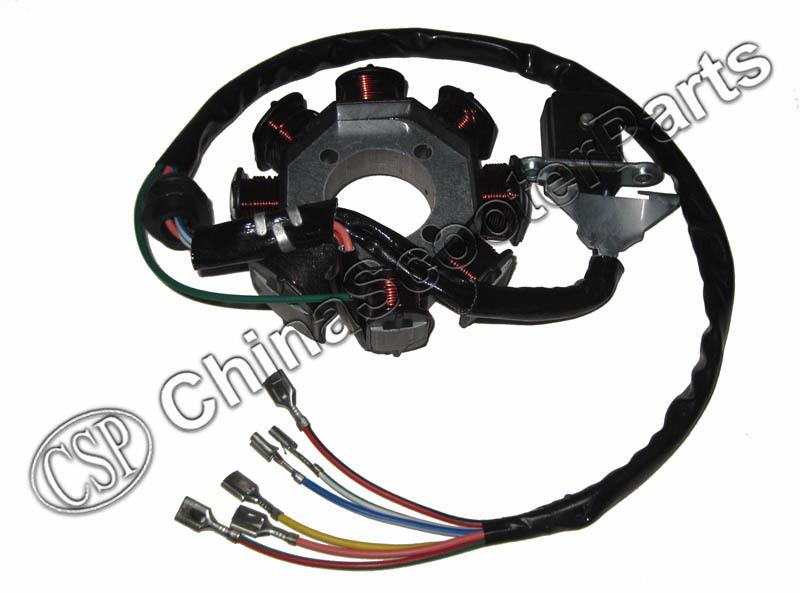 110cc Stator Wiring Diagram Wiring Diagrams Database – Stator Wiring Diagram