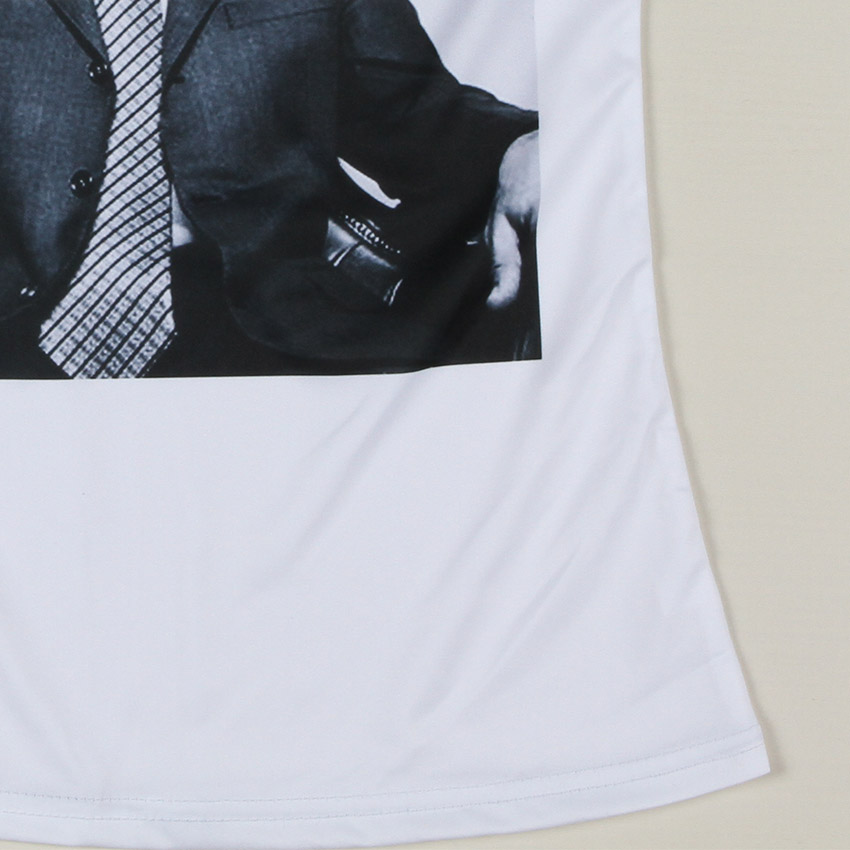Wholeslae футболка владимир путин GoHard женщин Russsia президент шею Desigual топ бесплатная доставка