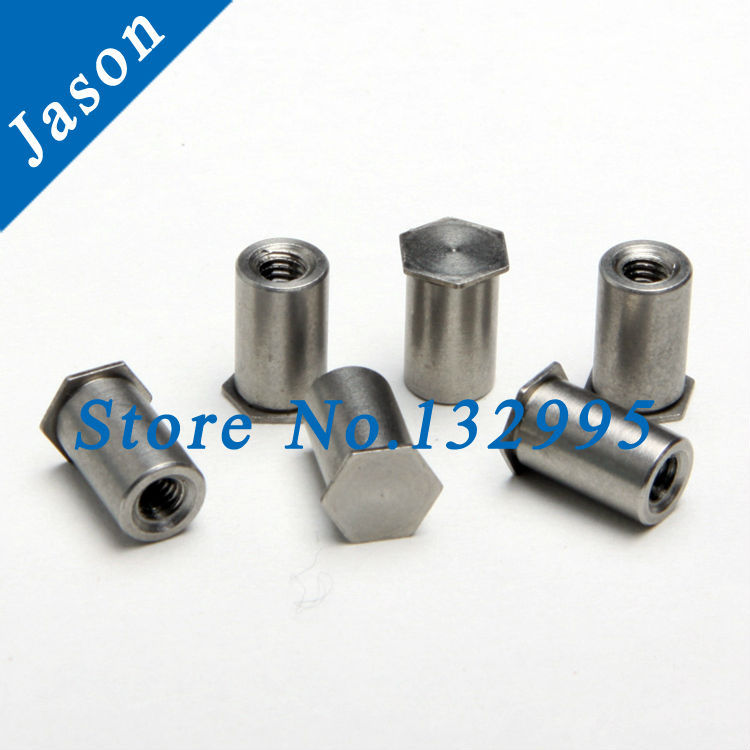 BSOS-3.5M3-14*100pcs  PEM Through hole standoff   Stainless Steel<br><br>Aliexpress