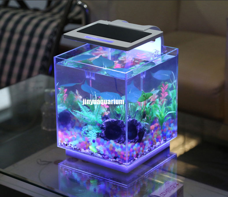 led light aquarium plant grow fish tank landscape 110v. Black Bedroom Furniture Sets. Home Design Ideas