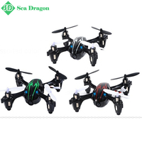 Free shipping 0.3MP Camera Drone Top Selling X6 Quadcopter RC VS Hubsan H107C 4CH 2.4G Remote Control Toys RC Helicopter Camera