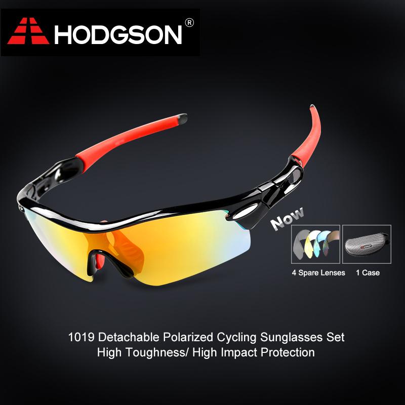 1019 HODGSON Brand Unisex Detachable Professional Cycling Sunglasses Set Men s Outdoor Polarized Bicycle Glasses Sports