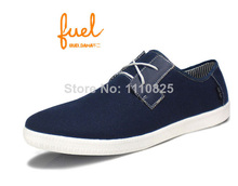Free shipping new casual men's flat , leisure canvas shoes for man, (dark blue, grey, khaki, black), size:44-50()