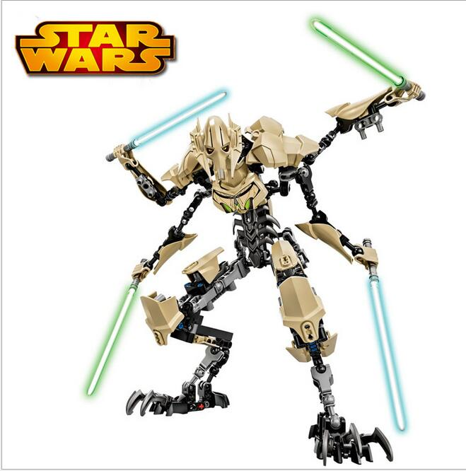 XSZ children assembled blocks early Baby Star Wars Star Soldier Toys general Grey Voss 714 toys doll(China (Mainland))
