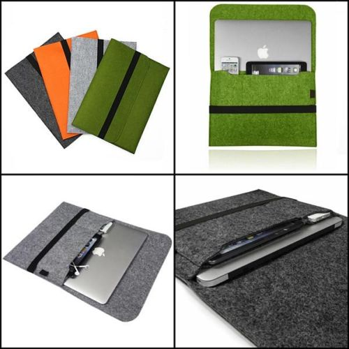 """Felt Sleeve Laptop Notebook Carry Case Cover Bag For Apple Macbook Pro Air 13.3"""" 13 nich For Macbook 11"""" 12"""" For Macbook 15""""(China (Mainland))"""