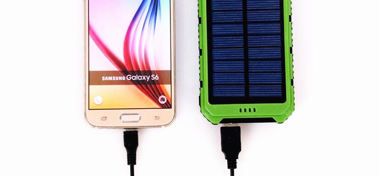 Ultrithin 15000mah polymer external battery pack power bank for samsung
