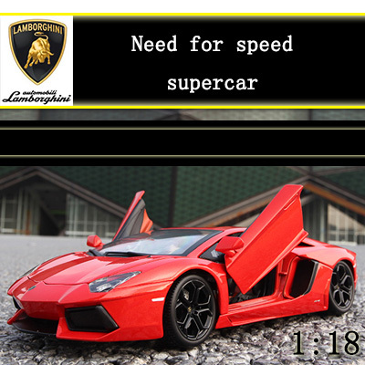 1:18 Super car edition alloy model car kids toys children Christmas gift model electronics delicate decoration(China (Mainland))