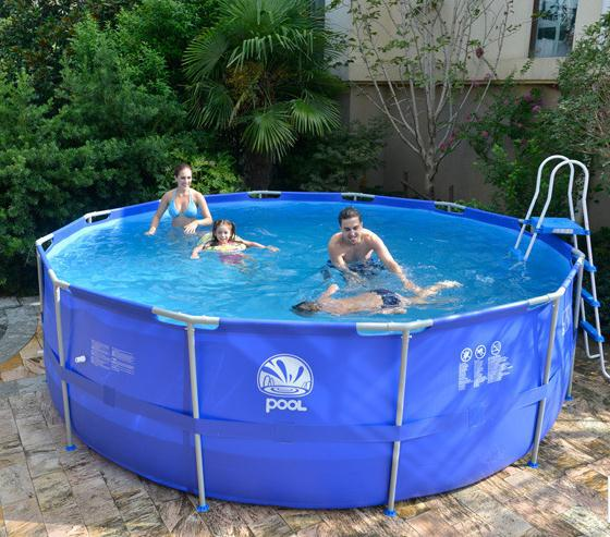 Piscine gonflable 63 for Piscine en plastique