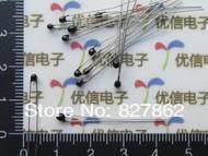 Free Shipping 50pcs 10k OHM NTC Thermistor Resistor NTC MF52AT 10K 5