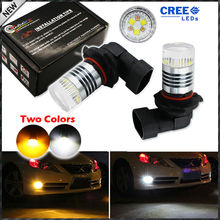 Buy 2pcs Color Switchable Xenon White/Amber Yellow CRE'E High Power 9006 HB4 9012 LED Bulbs Fog Lamps Driving Light Replacement for $19.57 in AliExpress store