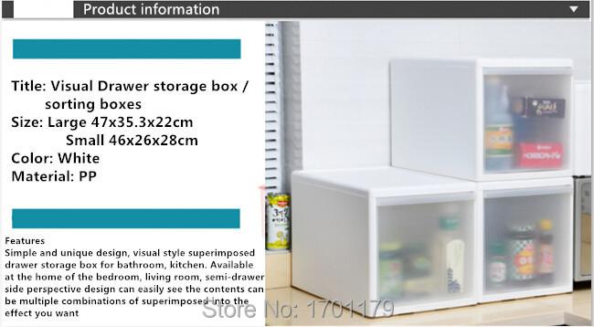 Free shipping drawer storage cabinets storage box plastic sorting boxes superimposed single cabinet drawer wardrobe lockers(China (Mainland))