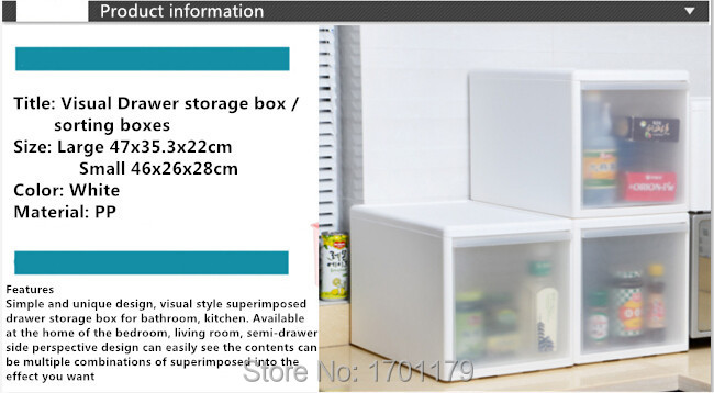 Free shipping drawer storage cabinets storage box plastic sorting boxes superimposed single cabinet drawer wardrobe lockers(China (Mainland))