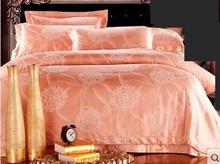 Home textile satin cathy cotton 100% cotton jacquard four piece set 100% cotton duvet cover bedding(China (Mainland))