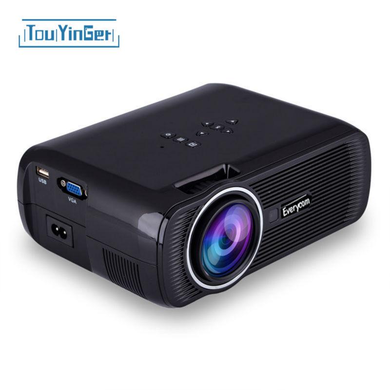 Original everycom X7 Mini Projector HDMI Home Theater beamer multimedia LED Proyector Full HD 1080P video Home Cinema projektor