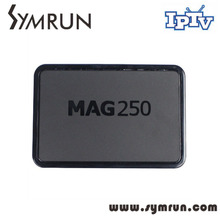 Mag250 linux system IPTV Set Top Box HD 1080p Satellite Receiver supportlan Mag 250 Micro