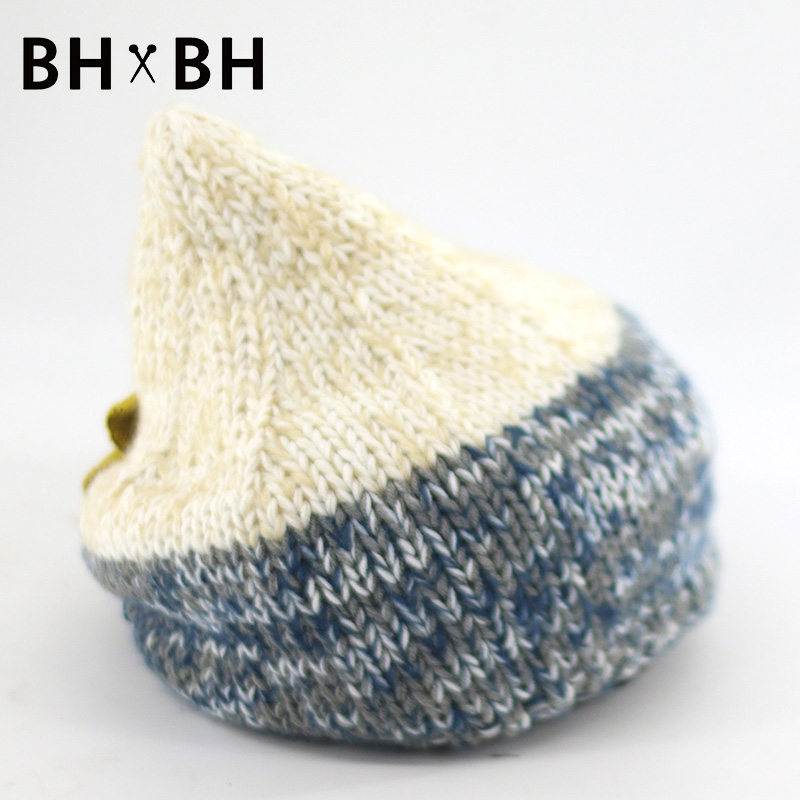 2016 New Arrival Casual Women Skullies Beanies fashion warm winter autumn knit chapeau female mixed colors crochet hat BH-B2509(China (Mainland))