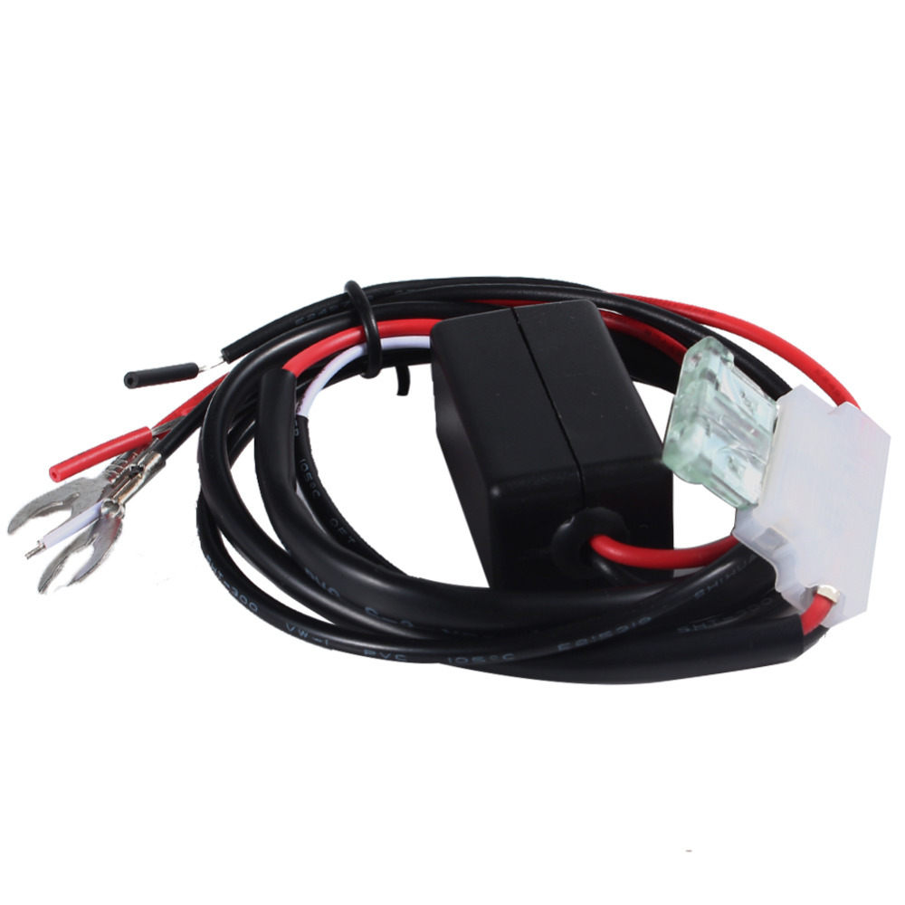 12v 2a Car Led Drl Relay Daytime Running Light Harness Hid Fog Driving Bar Wiring Switch Alex Nld
