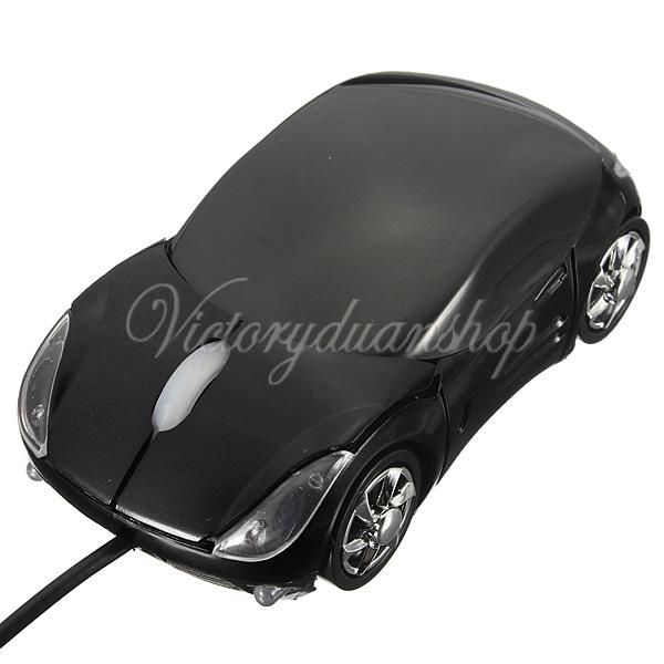 Brand New 3D Optical USB Wired Mouse Mice 1600DPI Car Shape for PC Laptop Notebook Computer