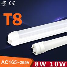 lampada de led T8 tubete 10W tube 600mmm tubo light 110v 220v 8w 10w cool white warm lampara tubetes lamp - Queens. store