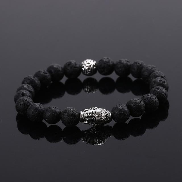 Новый будда бусины браслеты браслеты натуральный камень очарование браслеты для женщин ...