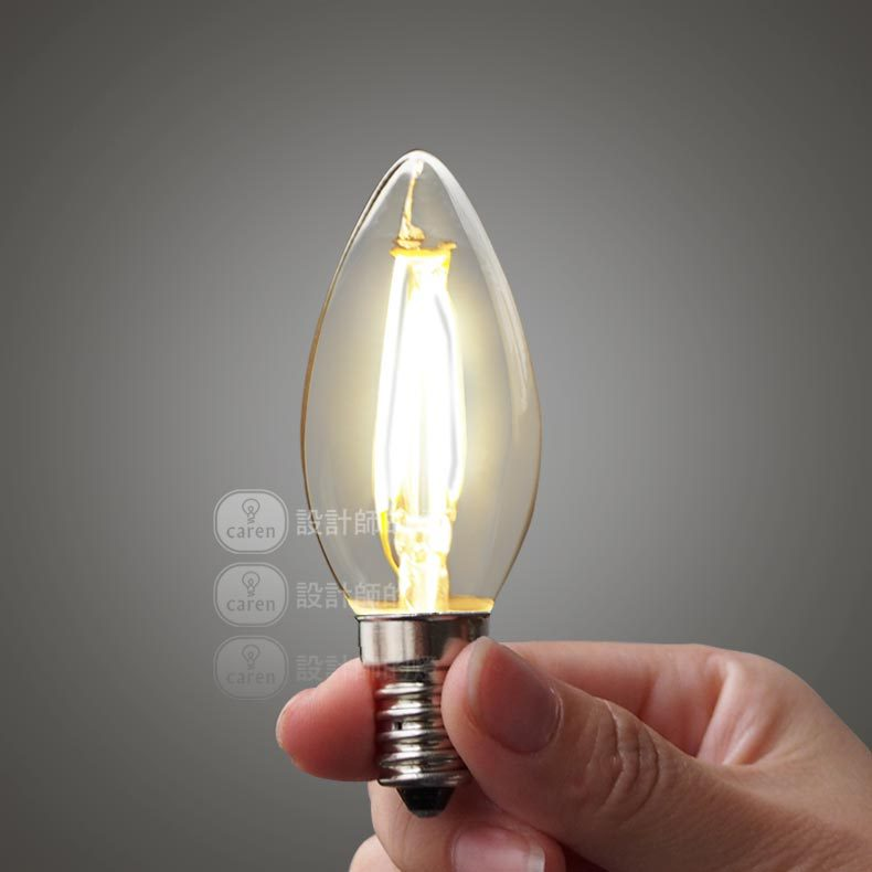 2W 4W E14 LED FIlament Candle Bulb Cob High Brightness(China (Mainland))