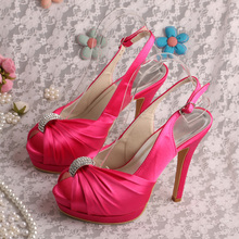 Hot pink sandals for wedding online shopping-the world largest hot