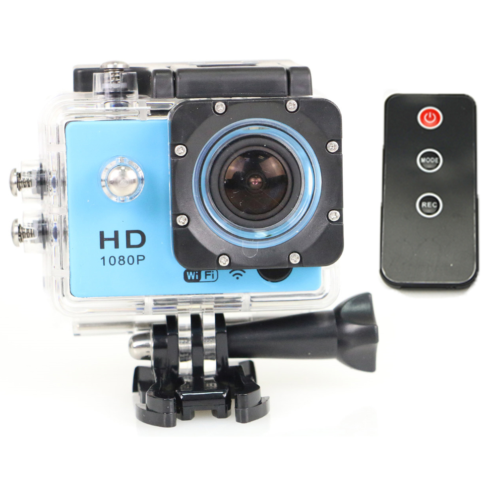 Remote Control Mini Action Camera SJ7000 Wifi 1080P Full HD 1.5 LCD 170 Lens Waterproof 30M Outdoor Sports DV Camcorder