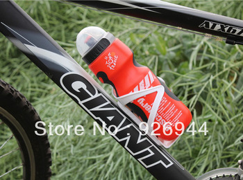 2013 Cost Promotion !The New Cycling Bike Bicycle Sports 750ml Plastic Water Bottle With Dust Cover free shipping~