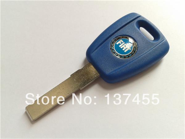 Fiat transponder key shell with logo fiat car key case fob selling(China (Mainland))