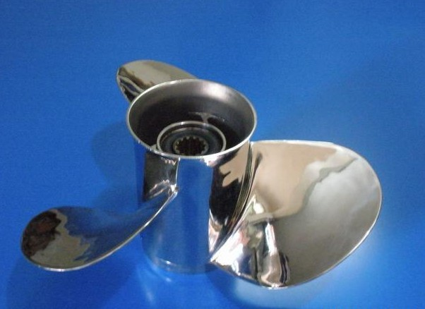 Propeller for yamaha honda suzuki tohatsu mercury 40 48hp for Mercury boat motor props