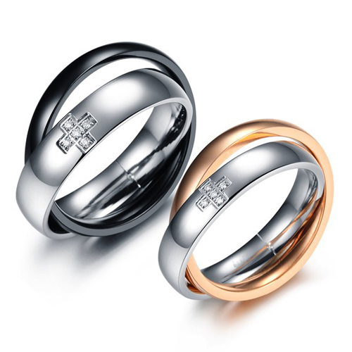 Freeshipping Bridal Sets 2015Accessories Titanium Steel Ring Couple Gj186 Buddhist Monastic Discipline - kiki fashion jewelry ( worldwide store)