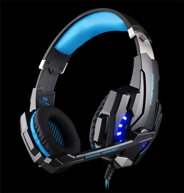 KOTION EACH G9000 3.5mm Game Gaming Headphone Headset Earphone With Microphone LED Light For Laptop Tablet Mobile Phones Xbox ONEPS4 (12)