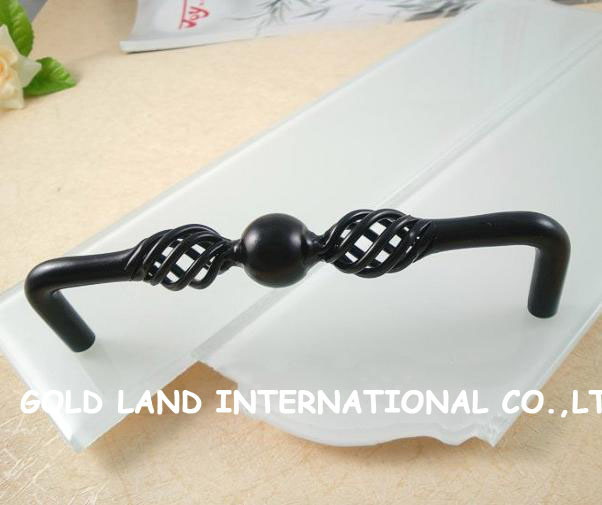 128mm Free shipping black kitchen cabinet furniture handle drawer handle<br><br>Aliexpress