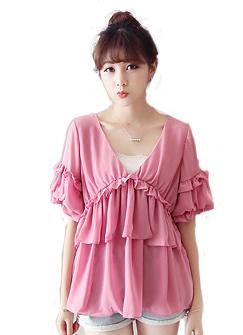 Женские блузки и Рубашки NA 2015 V NC6380