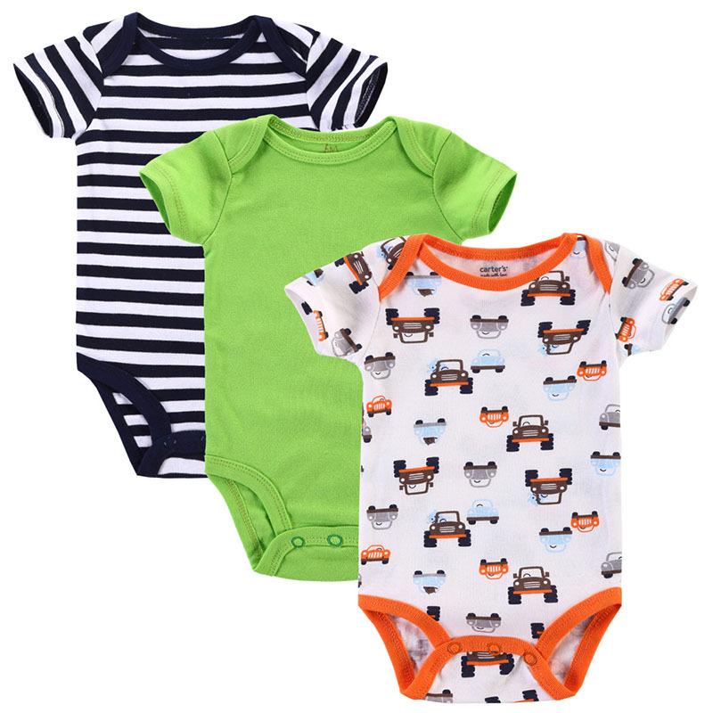 3pcs/lot Summer Next Cute Newborn Baby Romper Roupas Bebes Baby Boy Layette Body Bebe New Born Baby Clothes Babies<br><br>Aliexpress