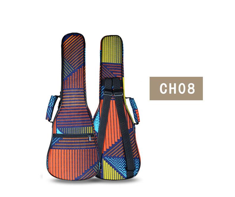 23'24 inches concert soprano ukulele small acoustic guitar bag case backpack soft gig shoulder concert Luna music ladies man(China (Mainland))