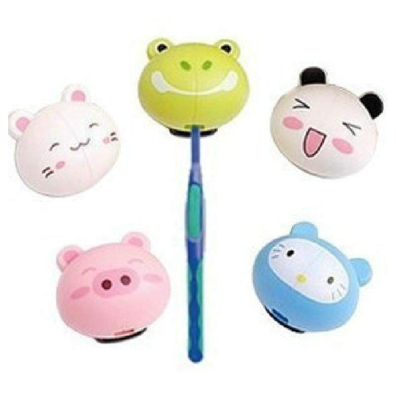 Bathroom accessories shelf cute cartoon animal automatic for Cute bath accessories