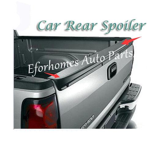 99 00 01 02 03 04 05 06 Silverado Sierra Auto Car Rear Spoiler Wing Free Shipping(China (Mainland))