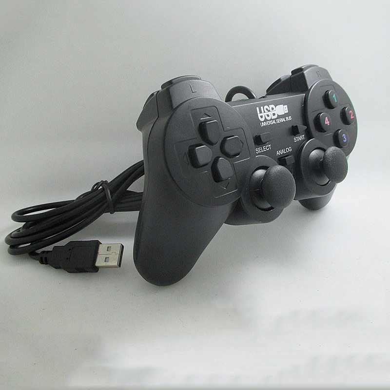 Usb Wired PC Game Controller Lynx Box Gamepad Dual Motor Shaking Compatible With All Brand Computers
